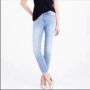 J. Crew | Lookout High Rise Crop Skinny Jeans
